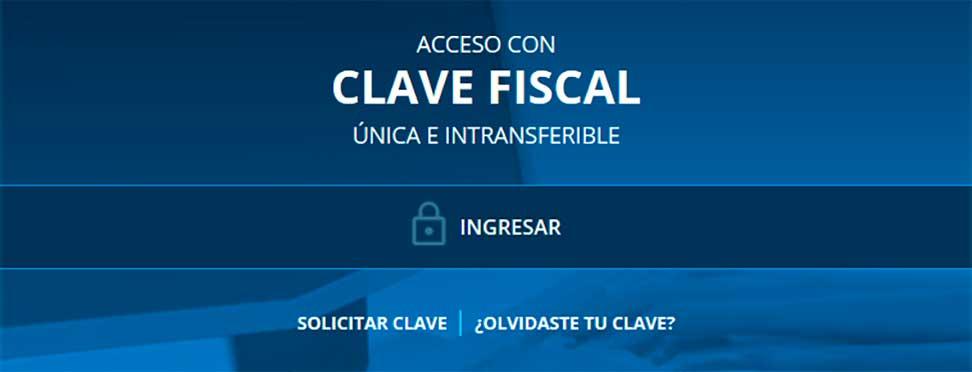 Acceso con clave fiscal AFIP